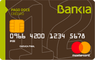 Tarjeta de crédito Pago 12 de Bankia