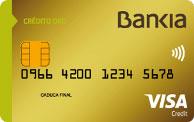 Tarjeta de crédito oro de Bankia