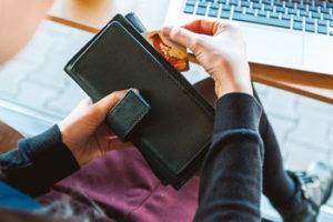 Compras que se pagan con tarjeta de crédito
