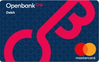 Tarjeta de débito Open Debit de Openbank