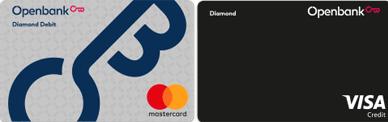 Pack de Débito y Crédito Diamond Openbank