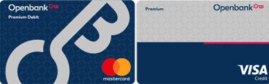 Pack de Débito y Crédito Premium Openbank