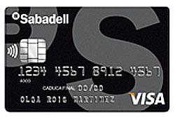 Tarjeta de crédito Visa Classic de Banco Sabadell