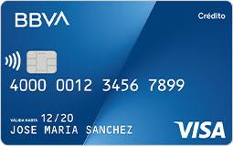 Tarjeta de crédito Después de BBVA