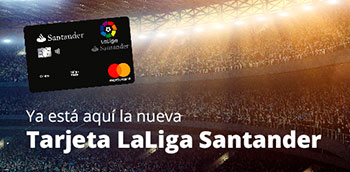 Tarjeta de crédito LaLiga Santander