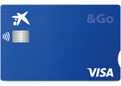Tarjeta de crédito Visa Go de Caixabank